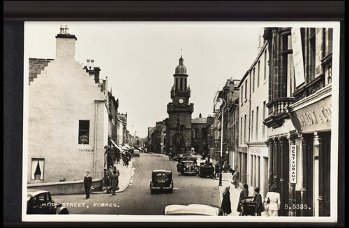 High Street, Forres.