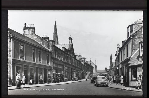 New Street, Dalry, Ayrshire.