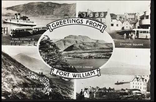Greetings from Fort William.