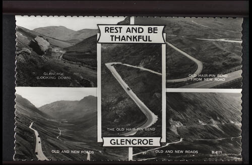 Rest and Be Thankful, Glencroe.
