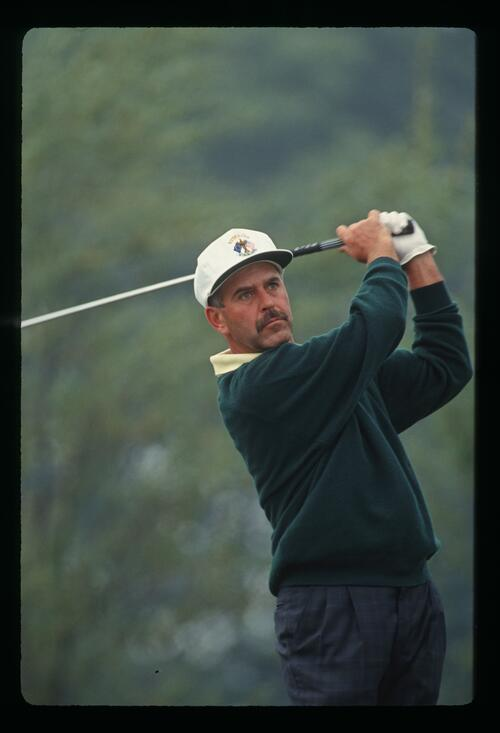 Mark James on the tee at The Belfry during the 1993 Ryder Cup