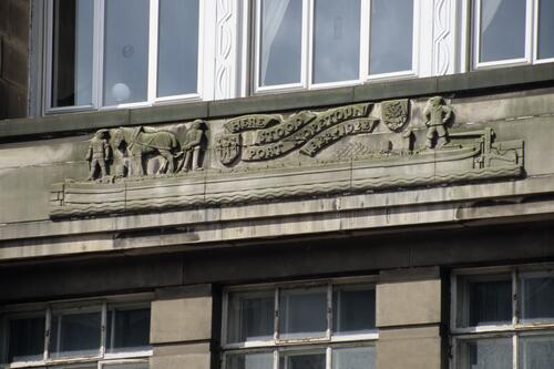 Lothian House Mural, Lothian Road, Edinburgh.