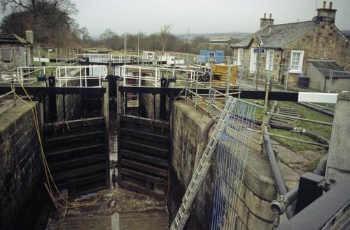 Locks, Forth and Clyde Canal