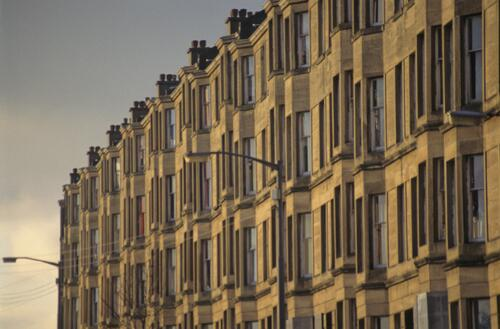 [Glasgow tenements]