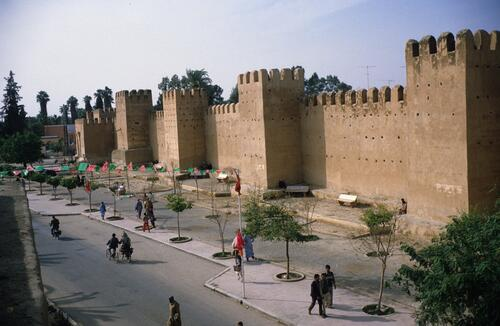 Taroudant city walls.