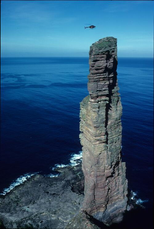 The Old Man of Hoy, Orkney Islands.