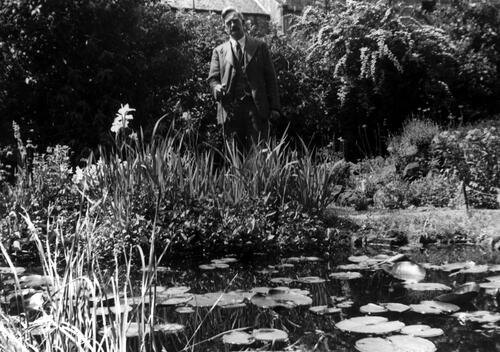 Pond, West Garden, St Andrews.