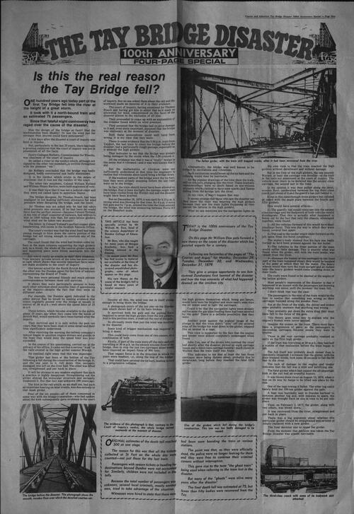 Photographs of the Tay Viaduct.