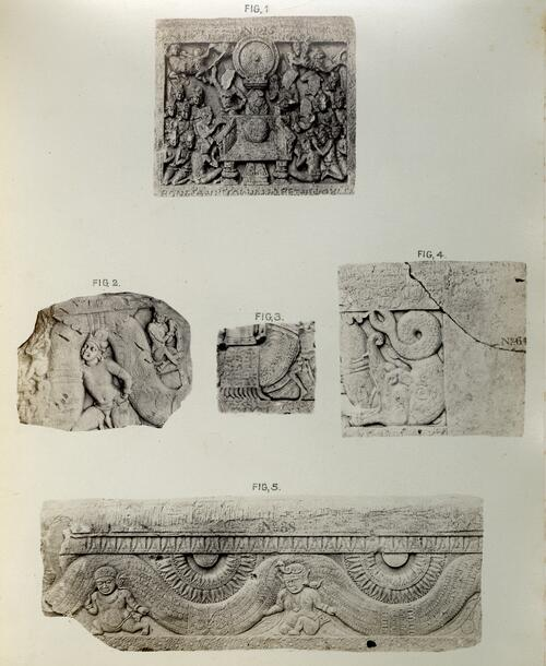 Sculpture Fragments, Amravati.