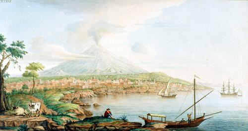 Mount Etna from Catania.
