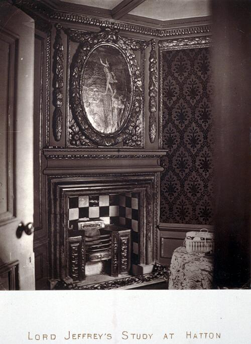 Lord Jeffrey's Study at Hatton.