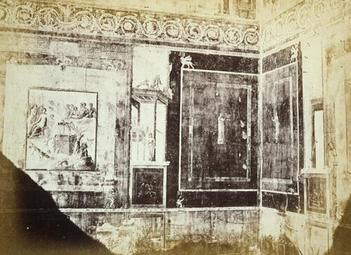 Fresco in the house of Siricus, Pompeii.