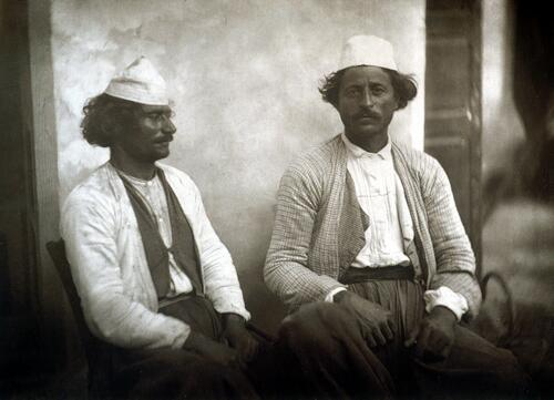 Cypriot peasants.