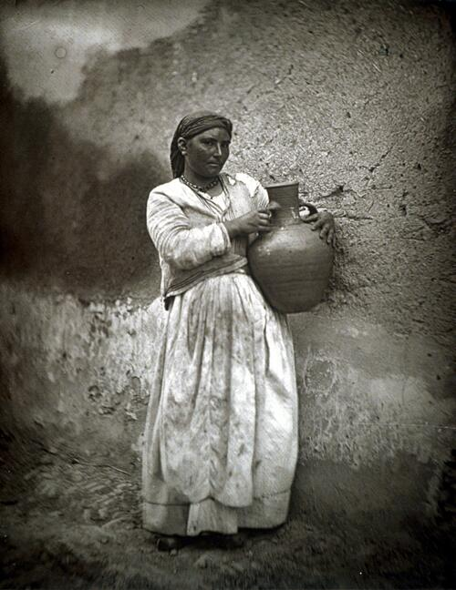 A water carrier.