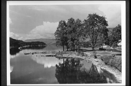 Loch Earn at St Fillans.