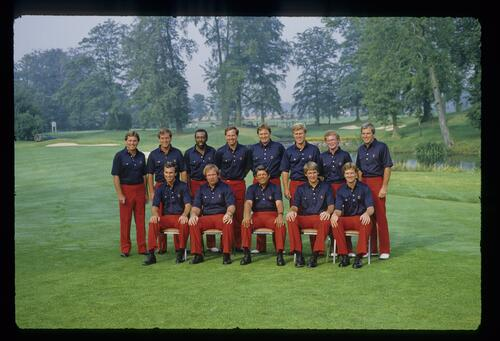 The 1985 USA Ryder Cup team