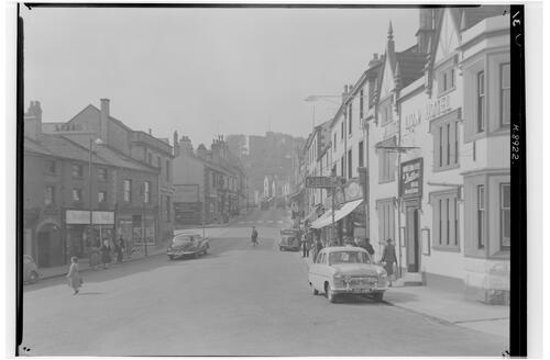 Market Place and Castle Street, Clitheroe.