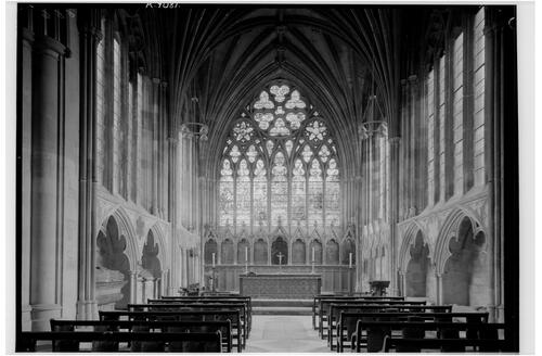 Lady Chapel, Exeter Cathedral.