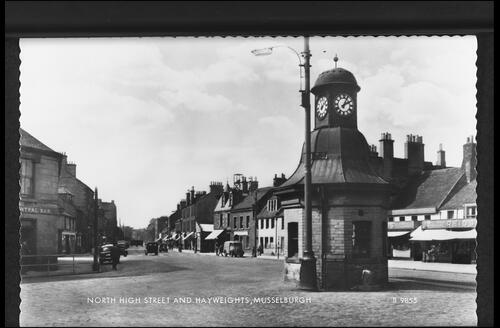 North High Street and Hayweights, Musselburgh.
