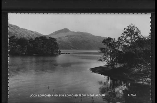 Loch Lomond and Lomond from near Ardlui.