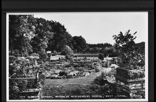 The Theatre Garden, Broomlee Residential School, West Linton.