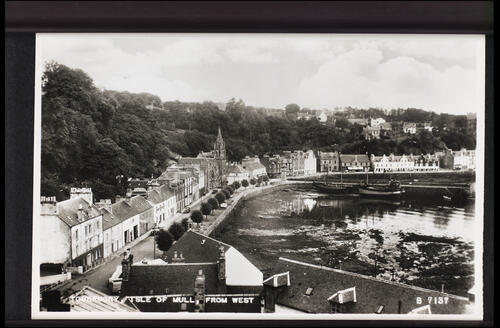 Tobermory, Isle of Mull from West.