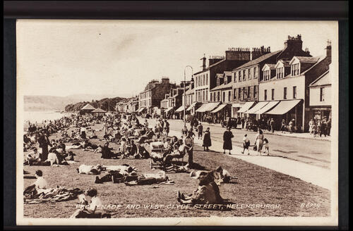 Promenade and West Clyde Street, Helensburgh.