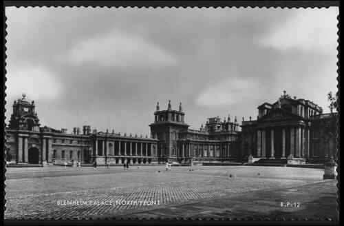 North Front, Blenheim Palace.