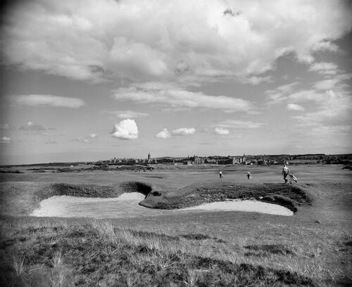 Hell Bunker, St Andrews.