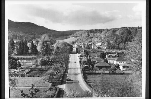 Dunkeld from the War Memorial.