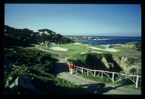 The dramatic setting of Cypress Point