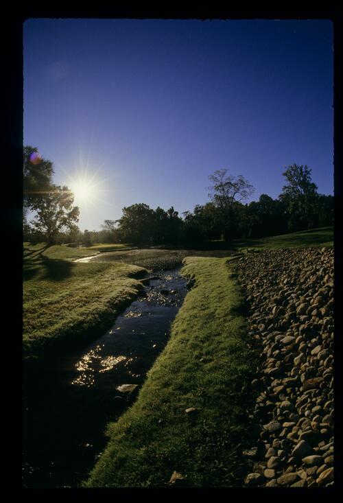 A scenic view of the Jack Nicklaus designed Muirfield Village