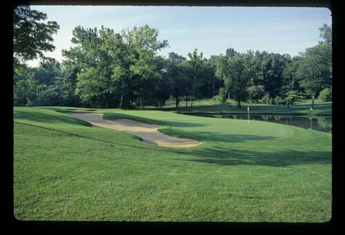 The well-manicured, Jack Nicklaus designed Muirfield Village