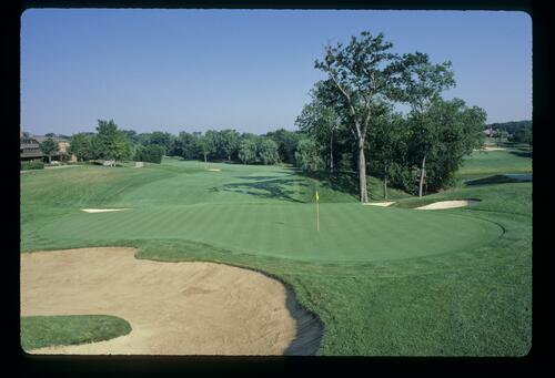 The well-manicured Jack Nicklaus designed Muirfield Village