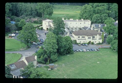 Aerial view of theWentworth Club clubhouse