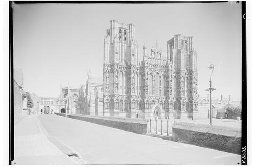 Wells Cathedral from North West.