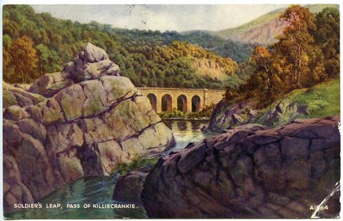 Soldier's Leap, Pass of Killiecrankie.