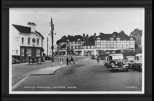 Station Approach, Haywards Heath.