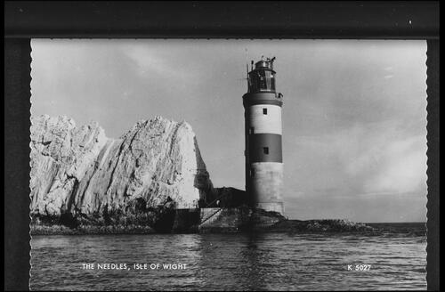 The Needles. Isle of Wight.