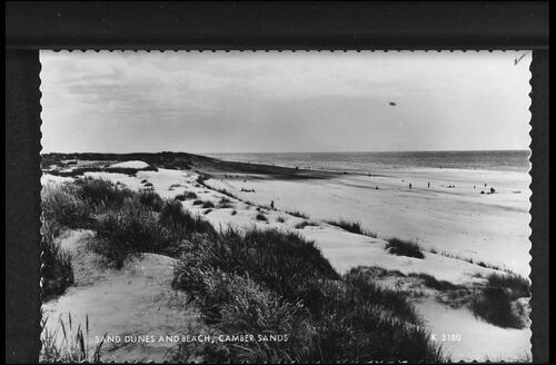 Sand Dunes and Beach, Camber Sands.