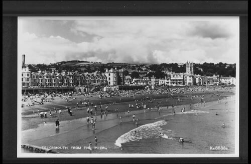 Teignmouth from the Pier.