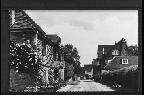 Mill Lane, Winchelsea.