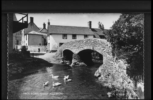 Pack Horse Bridge, Allerford.
