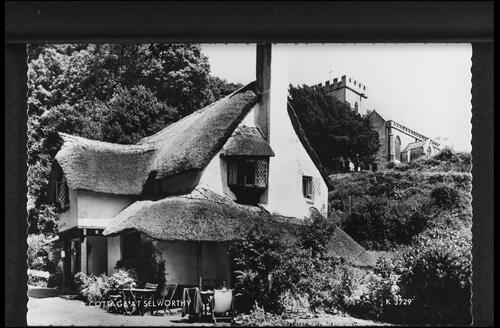 A Cottage at Selworthy.