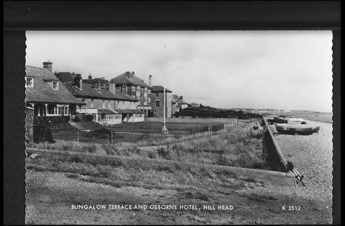 Bungalow Terrace and Osborne Hotel, Hill Head.