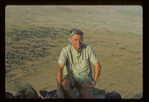 Professor Ladislav Holy, the Berti Tribe, Sudan