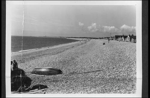 The Beach from West, Pagham.