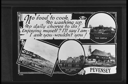 """No Food to Cook"", Pevensey"