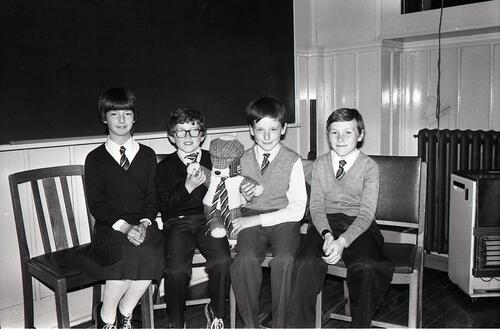 Scotquiz in School, St Andrews.
