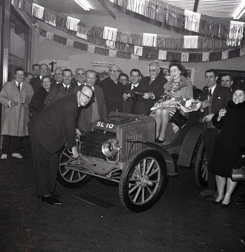 Gilliespie Motor Showroom opening, Westport Garage, St Andrews.